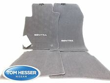 Genuine NISSAN SENTRA Black FLOOR MAT Set 2013-2016 OEM 999E2-LZ000
