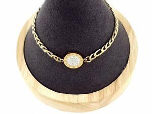 Handkette Chirurgenstahl  Kette Handschmuck Damen Goldkette  rostfrei Armkette