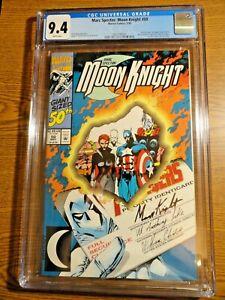 Marc Spector: Moon Knight #50 Avengers Key CGC 9.4 NM 1st Print Marvel Disney