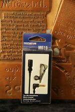 Olympus ME-15 Condenser Cable Consumer Microphone New In Box