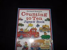 Richard Scarry's Counting to Ten Jigsaw Book