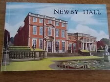 NEWBY HALL Vintage Booklet includes leaflets for RAILWAY & PINK BOUDOIR openings