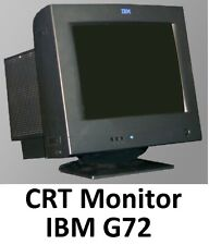 "CRT Video 17"" Monitor - IBM G72 - Good Working Condition"