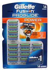 Gillette Fusion Proglide Flexball Power Razor Blades 14 Refill Cartridges