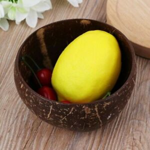 Handmade Natural Coconut Shell Bowl Home Decoration Food Container