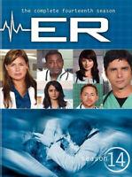 ER: The Complete Fourteenth Season (Season 14) (5 Disc) DVD NEW