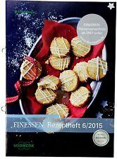 Vorwerk Thermomix FINESSEN Rezeptheft 6/2015 Buch Heft Rezepte TM5 TM31 sk24