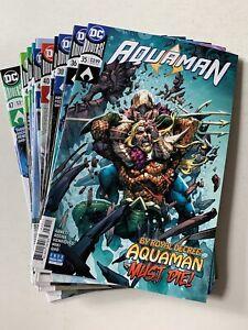 Aquaman #35-47 set Rebirth DC 2016 Series (incl. #42 movie Middleton variant)