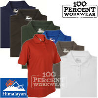 Premium Quality Ladies Womens Classic Pique Polo Shirt Short Sleeve Top Workwear