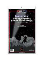 BCW Silver Age Comic Book Bags / Sleeves Pack of 100