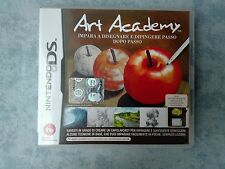 ART ACADEMY - NINTENDO NDS DS DSi 2DS 3DS - PAL ITA ITALIANO COMPLETO COME NUOVO