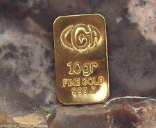 10 Grain 2012 Limited Edition Mayan 24K Pure 9999 Gold Bar Bullion Ingot !
