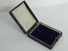 Antique Jewellery Box Old Case for Pendant / Medal / Jewels / Fob Watch etc