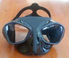 NEW DEEPGEAR Viper Frameless Freedive Spearfishing Dive Mask Low Volume