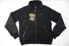 FILSON SHERPA FLEECE JACKET SZ-M COAT BLACK POLARTEC