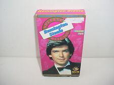 Remington Steele Special Release Volume 2 VHS Video Tape TV Pierce Bronson
