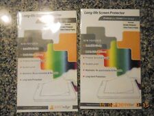 (2) sets of (2) Trimble Nomad Ultra-Clear Touch Screen Protectors,900 series