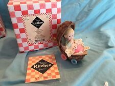 "My Little Kitchen Fairies ""NUTSHELL BUGGIE BABY FAIRIE"" 2004"