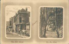 Postcard Kent Folkestone The Fish Market Embossed posted 1910