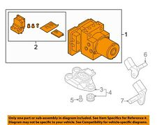AUDI OEM 2018 A4-Abs Pump And Motor Assembly 8W0614517NBEF