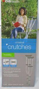 Universal Crutches CVS Health Free Shipping!