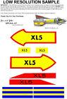Museum Quality Reproduction MPC Fireball XL5 Sticker Set Decals Steve Zodiak