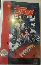 2003 Topps Football 1st Edition FACTORY SEALED Unopened Box 20 PACKS