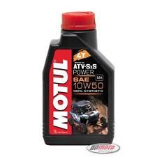 Motul ATV-SxS Power 10W50 4T Quad Oil 1L fully synthetic