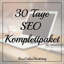 30 Tage SEO Komplettpaket | Linkaufbau | Backlinks | high PR | Marketing