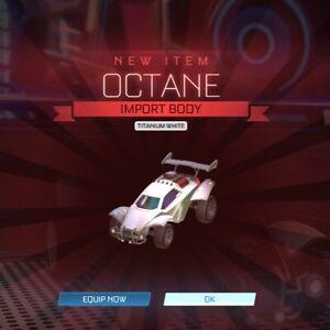 Rocket League - Titanium White Octane [PC/PS4]