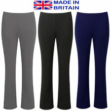 Bootcut Plus Size Stretch Trousers for Women