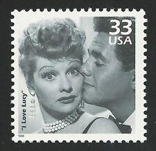 SALE I Love Lucy Lucille Ball Desi Arnaz Ricky Ricardo 65th Anniversary TV Stamp