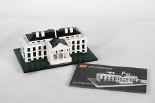 Lego 21006 Architecture White House USA Assembled + Manual 3709