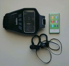 Apple iPod nano 7th Generation [w/ Bluetooth earphones & Belkin armband](bundle)
