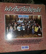 WE ARE THE WORLD- USA- AFRICA 1985-Columbia LP