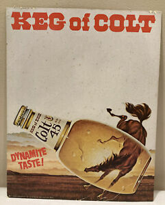 Vintage Colt 45 Malt Liquor Double Deck Playing Card Set VERY RARE