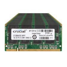 10pcs Crucial 1GB PC2700 DDR 333MHz 200Pin Sodimm Laptop Notebook Memory RAM
