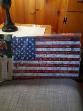 """New listing Magnetic Mailbox Cover """"Pledge of Allegiance"""" American Flag Mailwraps New!"""