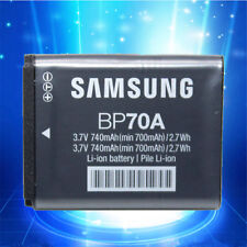 Genuine Original Samsung BP70A Battery For SL50 ES65 ES70 PL80 PL100 SBC-70A