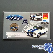 2017 50c Ford 1978 XC Falcon Cobra PNC PERTH ANDA MONEY EXPO SPECIAL OVERPRINT