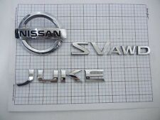 Nissan Juke 2011 2012 2013 2014 2015 2016 2017 rear emblem full set OEM