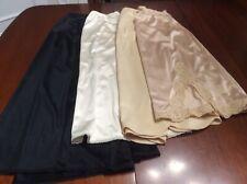 Vintage Lot Of 5 Half Slips Vanity Fair Vassarette All Sz Small Nylon Usa