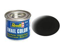 Revell 32108 - (14,21€/100Ml) Email Farbe - Schwarz Matt - 14Ml