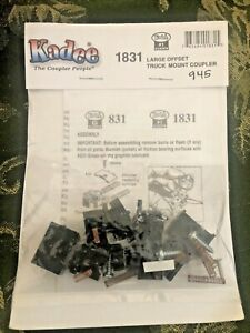 #1 Scale Large Offset Truck Mount Coupler 1-Pair - Kadee #1831 vmf121 NEW