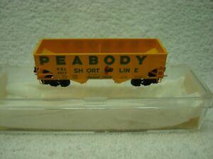 Kadee (MT) Peabody Coal 33' Two Bay Hopper