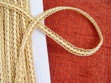 """5 yds vintage  trims fringe size 10 mm(3/8"""") gold"""