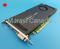 Dell NVIDIA Quadro 4000 2GB GDDR5 DVI DisplayPort PCIe Video Graphic Card 6WTYT