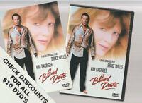 BLIND DATE 1987 DVD Horror Movie LIKE NEW WITH INSERTS BRUCE WILLIS KIM BASINGER