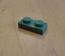 Lego 3023 - 1x2 piastra in rari Sabbia Verde - confezione da 20 - amici / città