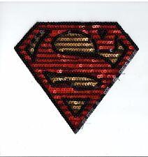 Sequin Patch: Superman Symbol